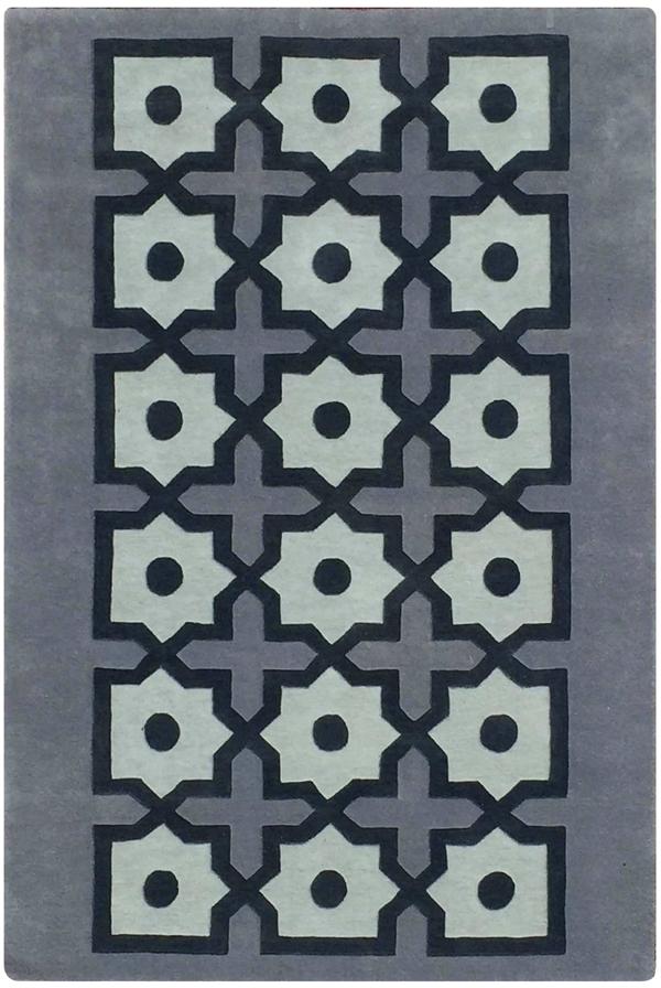 Moucharabieh Tanger gris boir black grey